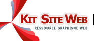 Kit Site Web logo kit graphique